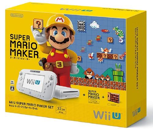 【中古・箱説なし・付属品なし・傷あり】Wii U スーパーマリオメーカー セット