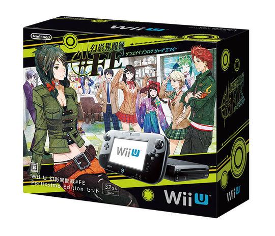 【中古】Wii U 幻影異聞録#FE Fortissimo Edition セット (ソフトの付属は無し)