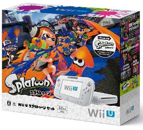 【中古・箱有・説明書無】Wii U スプラトゥーン セット