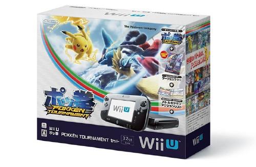 【中古・箱無・説明書有】Wii U ポッ拳 POKKEN TOURNAMENT セット