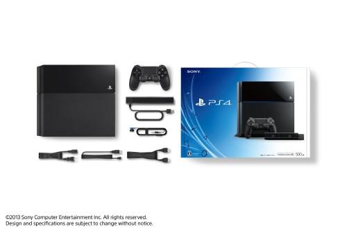 【中古】PlayStation4 CUH−1000AA01 ジェット・ブラック PlayStation Camera同梱版
