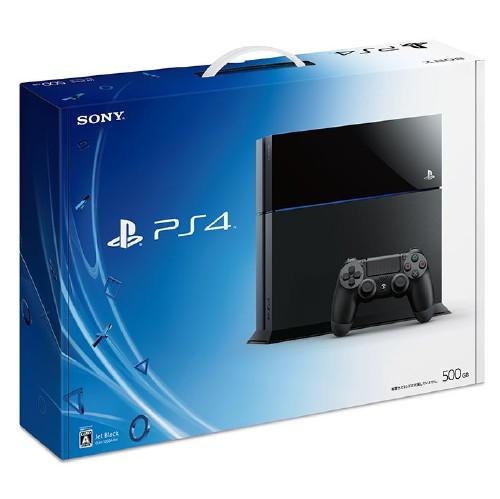 【中古・箱説なし・付属品なし・傷あり】PlayStation4 CUH−1100AB01 ジェット・ブラック
