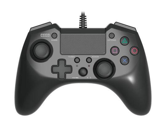 【中古】ホリパッドFPSプラス for PlayStation4 ブラック