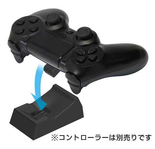 【新品】置くだけ充電スタンド 1台用 for ワイヤレスコントローラー(DUALSHOCK4)ブラック