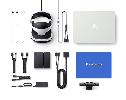 【中古】PlayStation VR PlayStation Camera同梱版 CUHJ−16001 (同梱版)