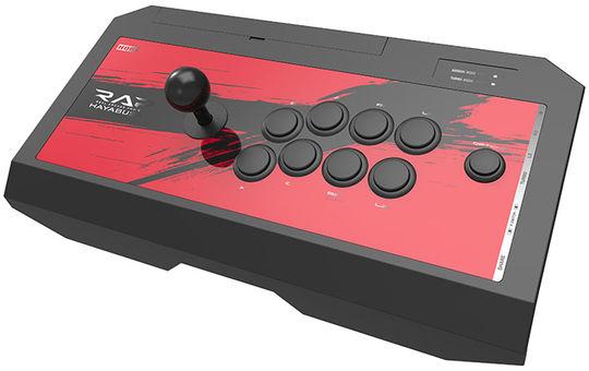 【中古】リアルアーケードPro.V HAYABUSA ヘッドセット端子付き for PlayStation4/PlayStation3/PC