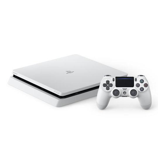 【中古】PlayStation4 CUH−2000AB02 グレイシャー・ホワイト 500GB