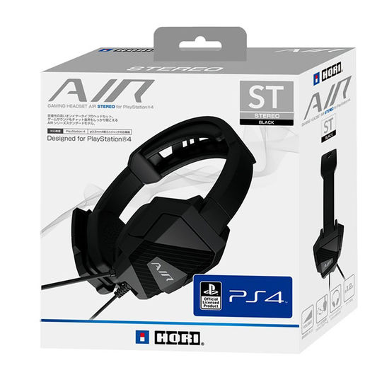 【新品】GAMING HEADSET AIR STEREO for PlayStation4 ブラック