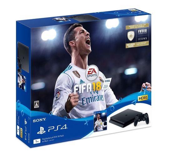 【中古・箱説あり・付属品あり・傷なし】PlayStation4 FIFA 18 Pack (ソフトの付属は無し)