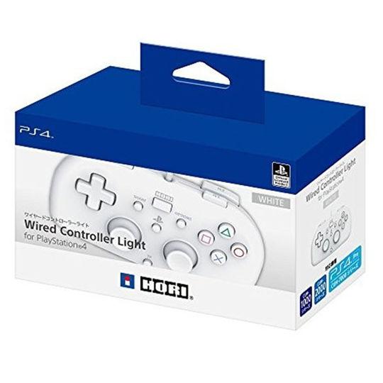 【中古】ワイヤードコントローラーライト for PlayStation4 ホワイト