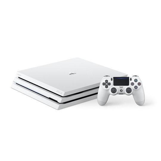 【中古・箱説あり・付属品あり・傷なし】PlayStation4 Pro CUH−7100BB02 グレイシャー・ホワイト 1TB