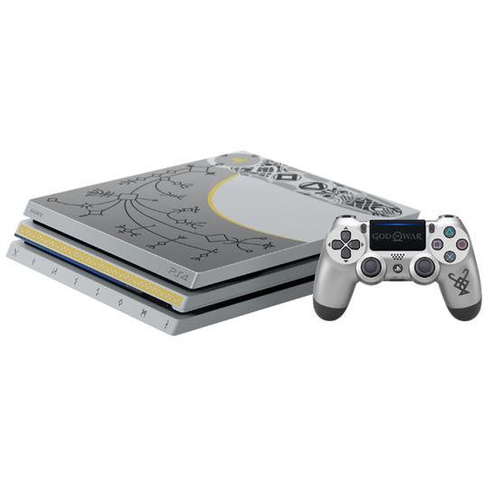 【中古・箱説あり・付属品あり・傷なし】PlayStation4 Pro ゴッド・オブ・ウォー リミテッドエディション (ソフトの付属は無し)