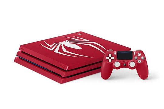 【中古・箱説あり・付属品あり・傷あり】PlayStation4 Pro Marvel's Spider−Man Limited Edition (ソフトの付属は無し)