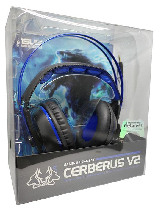 【新品】CERBERUSシリーズ ゲーミングヘッドセット ブルー