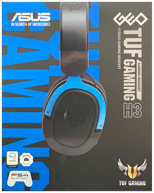 【新品】【ゲオ専売】TUF GAMINGシリーズ ゲーミングヘッドセット ブルー