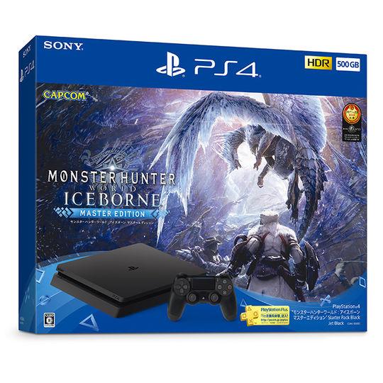 【中古・箱説あり・付属品あり・傷なし】PlayStation4 モンスターハンターワールド:アイスボーン マスターエディション Starter Pack Black (同梱版)