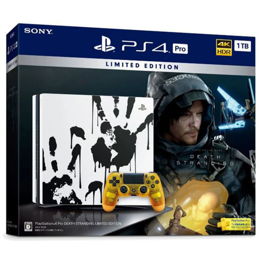【新品】PlayStation 4 Pro DEATH STRANDING LIMITED EDITION (同梱版)