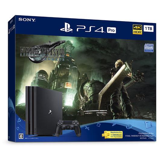 【中古・箱説あり・付属品あり・傷なし】PlayStation 4 Pro FINAL FANTASY VII REMAKE Pack (同梱版)