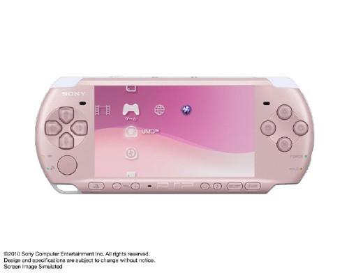 【中古】PlayStation Portable PSP−3000ZP ブロッサム・ピンク