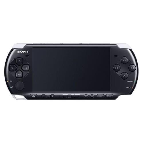 【中古・箱無・説明書無】PlayStation Portable PSP−3001PB ピアノ・ブラック 北米版