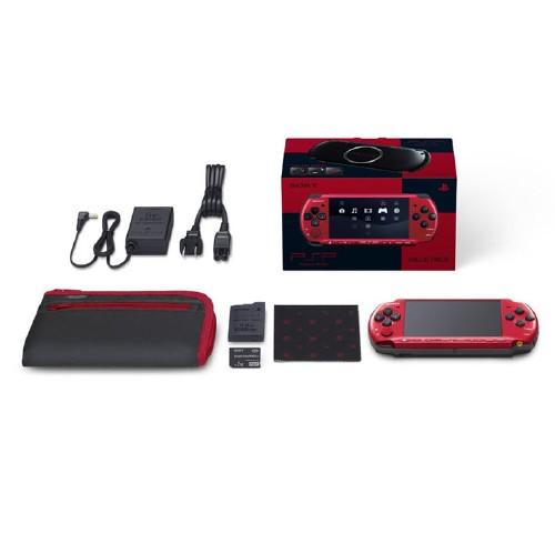 【中古・箱無・説明書有】PlayStation Portable レッド/ブラック バリューパック PSPJ−30026 (限定版)