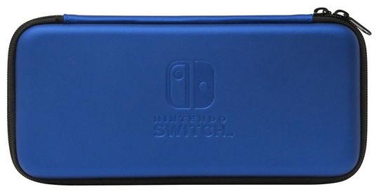 【新品】スリムハードポーチ for Nintendo Switch ブルー