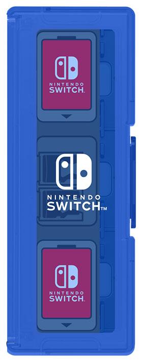 【新品】カードケース6+2 for Nintendo Switch ブルー