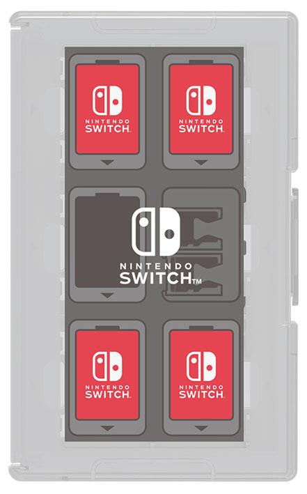【新品】カードケース12+2 for Nintendo Switch ホワイト