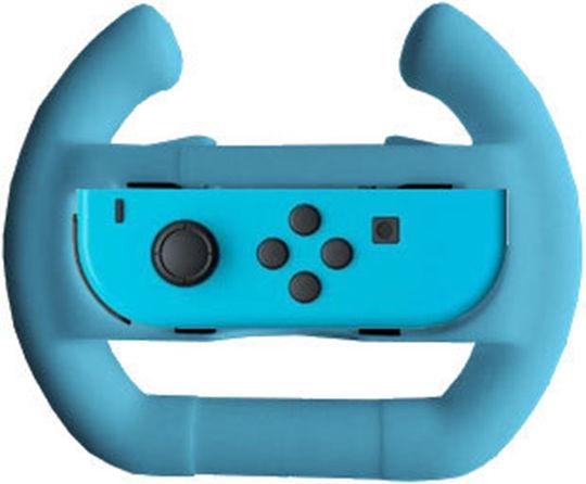 【新品】Switchジョイコン用 ハンドルアタッチメント(ブルー)