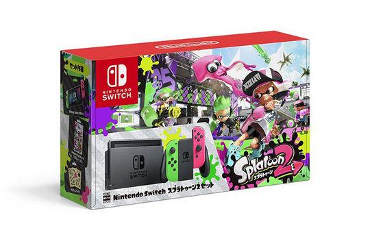 【中古・箱説あり・付属品あり・傷なし】Nintendo Switch スプラトゥーン2セット (ソフトの付属は無し)