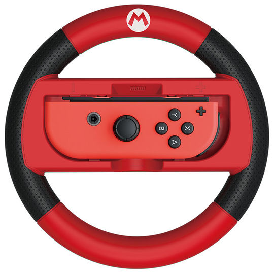 【新品】マリオカート8 デラックス Joy−Conハンドル for Nintendo Switch マリオ