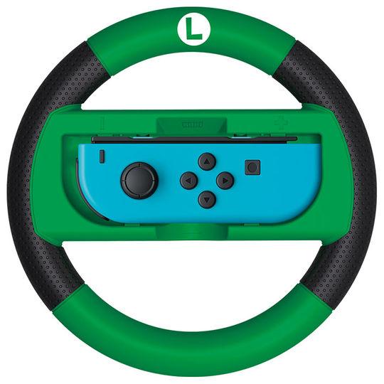 【新品】マリオカート8 デラックス Joy−Conハンドル for Nintendo Switch ルイージ