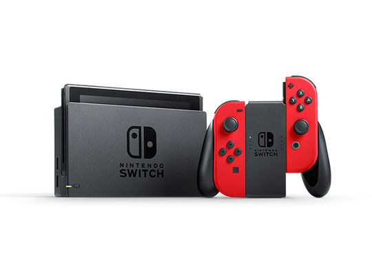 【中古・箱説あり・付属品あり・傷なし】Nintendo Switch スーパーマリオ オデッセイセット (ソフトの付属は無し)