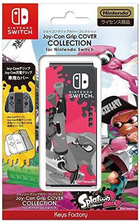 【新品】Joy−Con Grip COVER COLLECTION for Nintendo Switch (splatoon2) Type−A