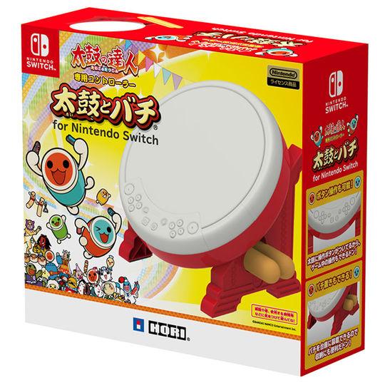 【中古】太鼓の達人専用コントローラー 太鼓とバチ for Nintendo Switch