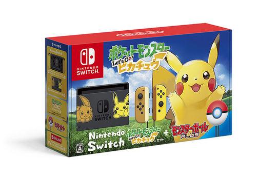 【中古・箱説あり・付属品あり・傷なし】Nintendo Switch ポケットモンスター Let's Go! ピカチュウセット(モンスターボール Plus付き)