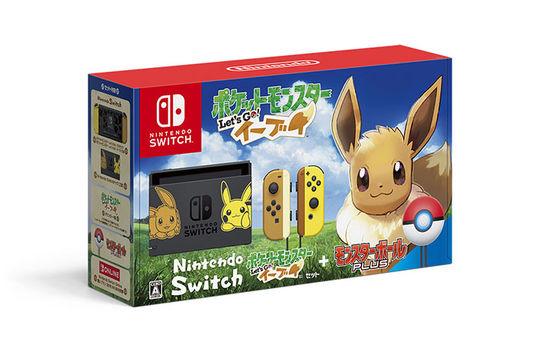 【新品】Nintendo Switch ポケットモンスター Let's Go! イーブイセット (モンスターボール Plus付き)(同梱版)