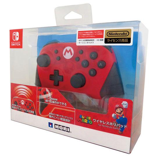 【中古】ワイヤレスホリパッド for Nintendo Switch(スーパーマリオ)