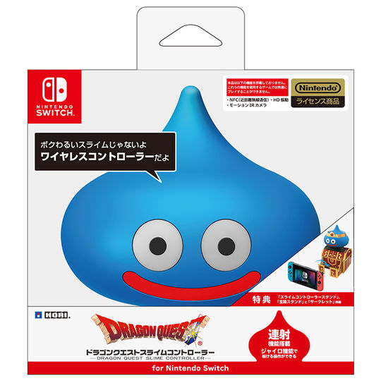【新品】ドラゴンクエストスライムコントローラー for Nintendo Switch