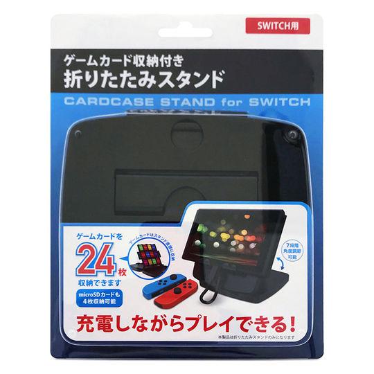 【新品】カードホルダ付スタンド GRAMO−SWCS01 BK ブラック