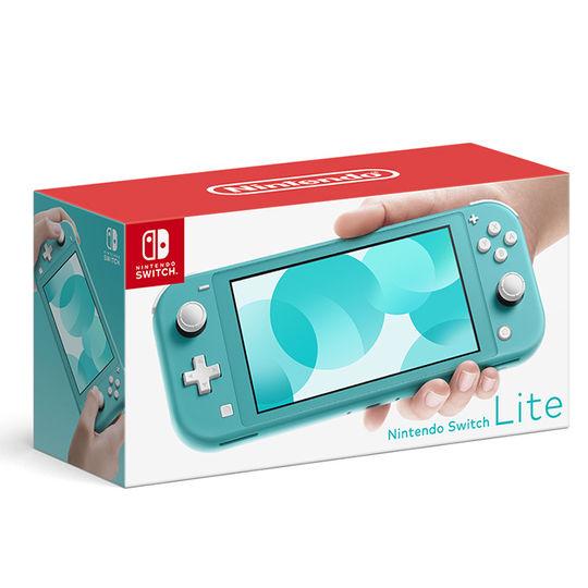 【中古・箱説あり・付属品あり・傷なし】Nintendo Switch Lite ターコイズ