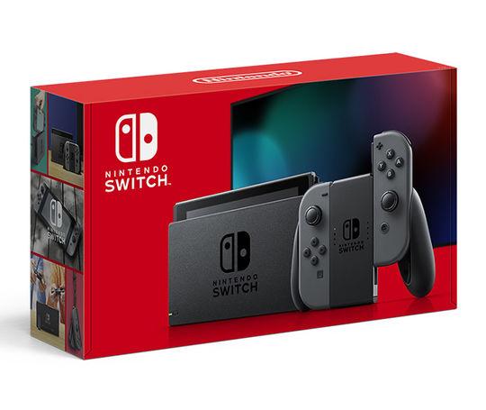 【中古・箱説あり・付属品あり・傷なし】Nintendo Switch Joy−Con(L)/(R) グレー 新モデル