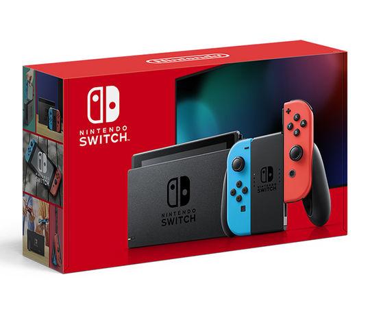 【新品】Nintendo Switch Joy-Con(L) ネオンブルー/(R) ネオンレッド 新モデル