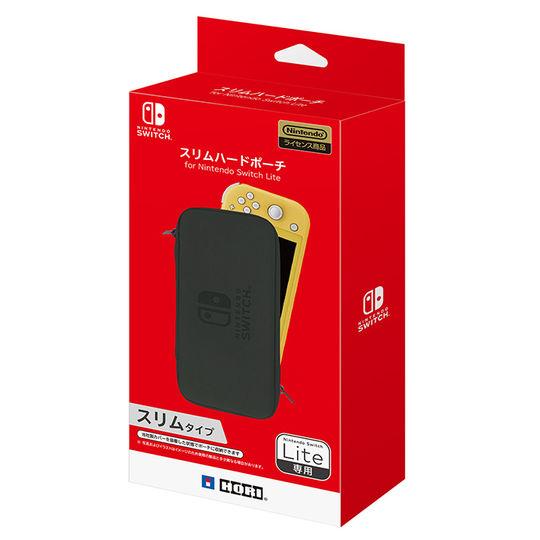【新品】スリムハードポーチ for Nintendo Switch Lite ブラック