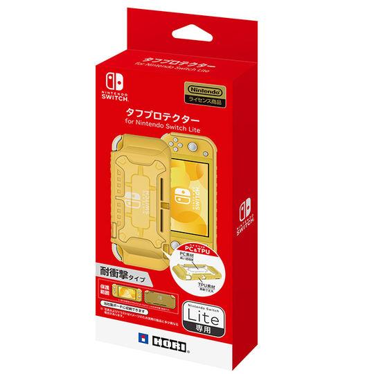 【新品】タフプロテクター for Nintendo Switch Lite クリア×イエロー