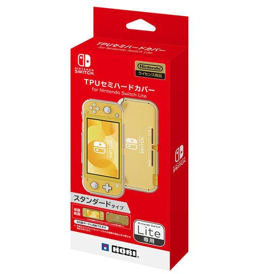 【新品】TPUセミハードカバー for Nintendo Switch Lite クリアホワイト