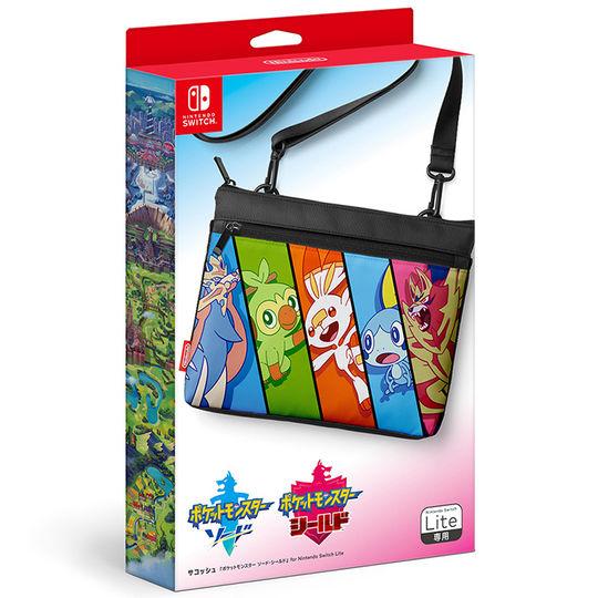 【新品】サコッシュ『ポケットモンスター ソード・シールド』 for Nintendo Switch Lite