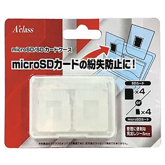 【新品】microSD/SDカードケース4
