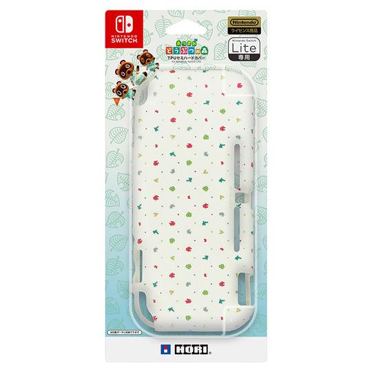 【新品】あつまれ どうぶつの森 TPUセミハードカバー for Nintendo Switch Lite