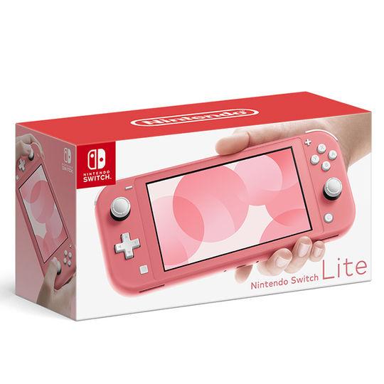 【中古・箱説あり・付属品あり・傷なし】Nintendo Switch Lite コーラル